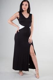 Sleeveless Slit Maxi Dress