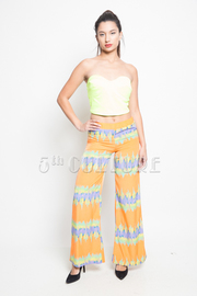 Digital Print Loose Fit Pants