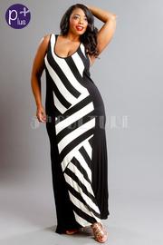 Side Panel Maxi Dress
