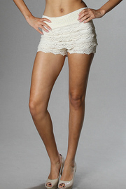 Crochet Layered Shorts