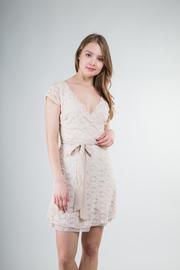 Crochet Waist Tied Dress