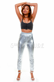 Matte Foil Sweat Pants