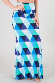 Triangle Print Maxi Dress/Skirt