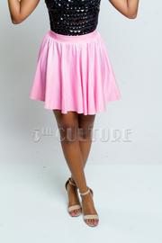 Pastel Shiny A-Line Skirt