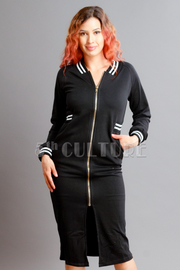 Zip Up Long Terry Jacket