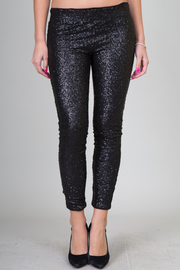 High Waist Sequin Leggings