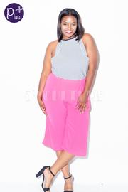 Plus Size Dressy Capri Pants