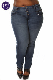 Plus Size Basic Skinny Jeans