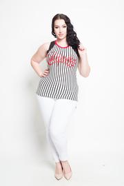 Plus Size California Sleeveless Sporty Dress