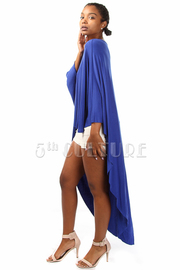 Draped Long Back Fashion Top
