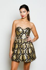 Sweetheart Baroque A-Line Dress