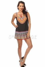Decorative Print Dress