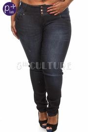 Plus Size Low Rise Denim Jeans