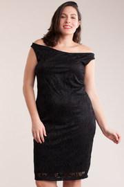 Plus Size Sleeveless Textured Mini Dress
