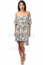 Off The Shoulder Loose Fit Dress