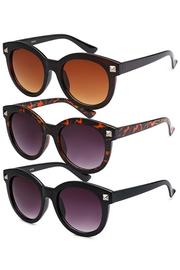 Wayfarer Round Plastic Sunglasses