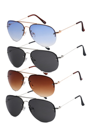 Color Aviator Sunglasses