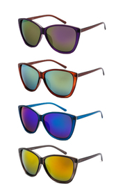 Neon Cat Eye Sunglasses