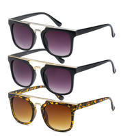 Metal ZZ Sunglasses