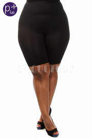 Plus Size Seamless Shape My Day High- Waisted Thigh Short