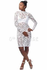 Vintage Mesh Mini Dress