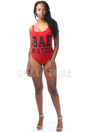 Bae Watch Printed Bodysuit