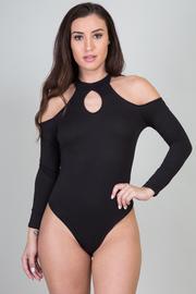 Peek A Boo Keyhole Sexy Bodysuit
