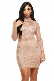 Sexy In Jeweled Bodycon Tube Dress
