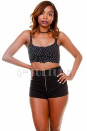 Zipper Front Mini Summer Shorts