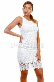Casual Summer Crochet Tube Dress