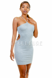 Cutout Racer Tube Dress