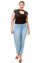 Plus Size Light Casual Skinny Jeans
