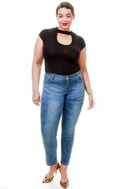 Plus Size Basic Skinny Jeans