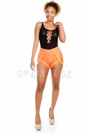 Ball Tassel Mini Shorts