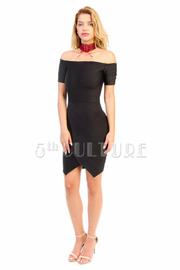 Off Shoulder Sexy Bandage Club Dress