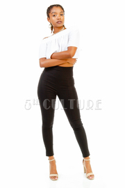 Solid Chic Skinny Pants