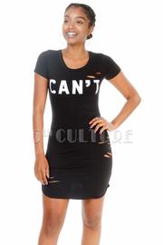 Cutout Mini Can't Touch Mini Dress