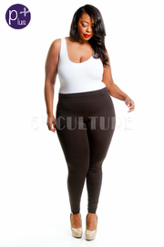 Plus Size Sexy In Yoga Lined Pants
