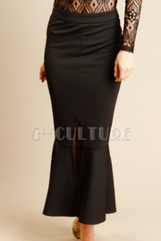 Slit Side Maxi Pro Skirt