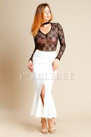Slit Side Maxi Pro Skirt