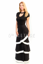 Tango Ruffled Layered Maxi Skirt