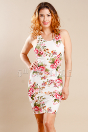 Sweet & Sexy Floral Mini Tube Dres