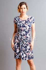 Short Sleeved Floral Sweet Dress