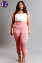 Plus Size Lined Yoga Pants