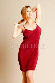 Summer Pleated Silky Tank Dress