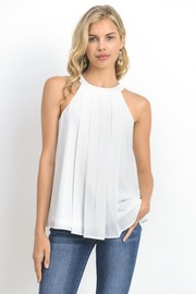 Pleated Sheer Summer Top