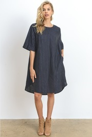 Striped Oversize Tunic Dress