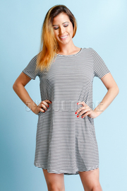 Striped Summer Tunic Dress