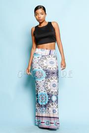 Bohemian Maxi Printed Skirt