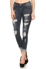 Ripped Off In Style Skinny Jeans